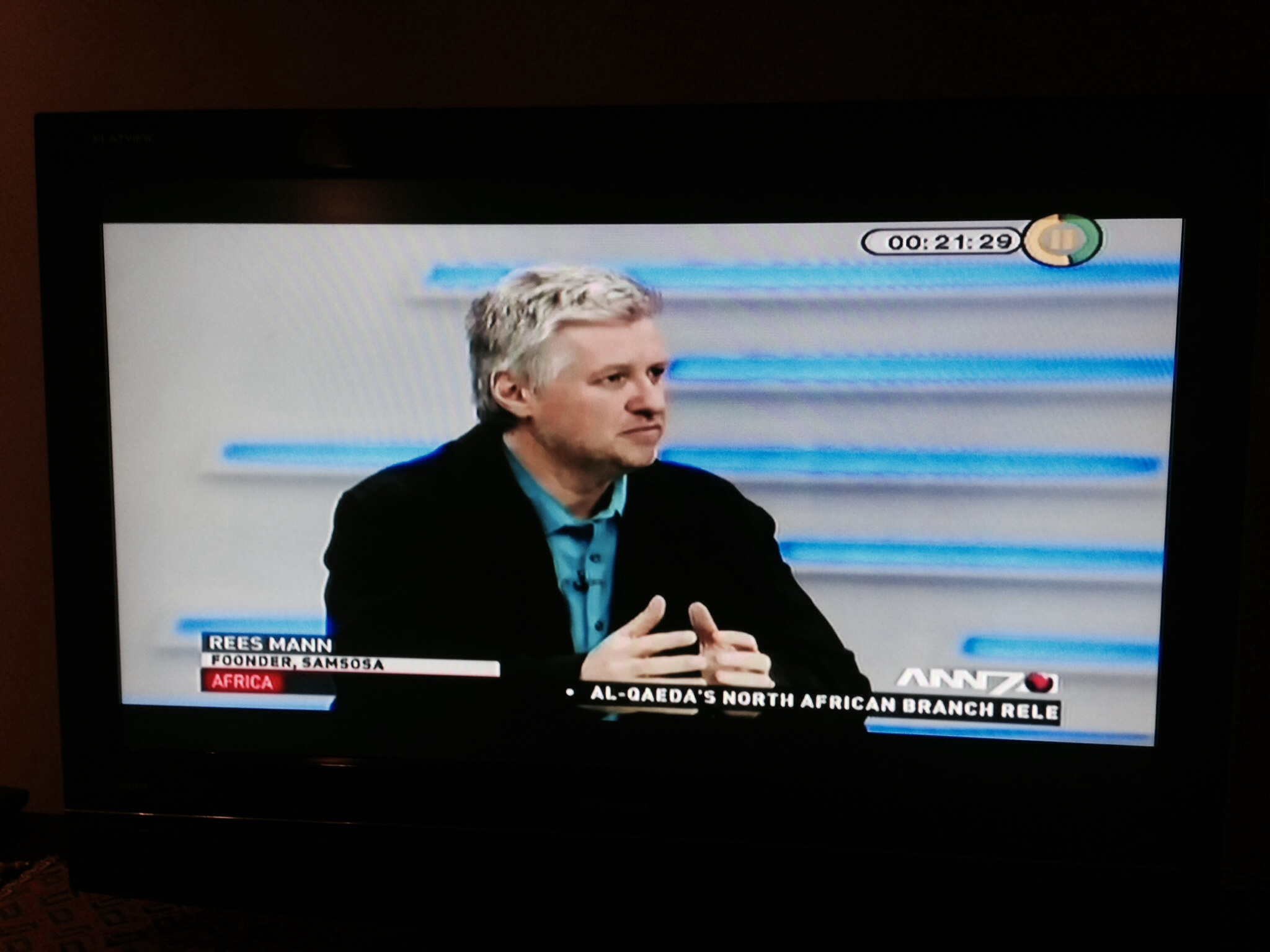 LIVE INTERVIEW ON ANN7 ON THE SAMSOSA LAUNCH